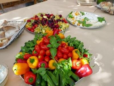המלצה על ארוחת בוקר, טיול במרכז