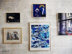 שבוע האיור,יוצאים מהקופסא התקופה הכחולה ציורים