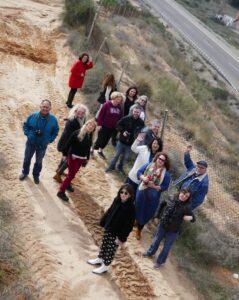 טיול דרום הארץ עיתונאים, נוף עזה