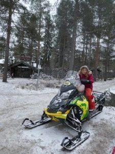טיול באופנוע שלג