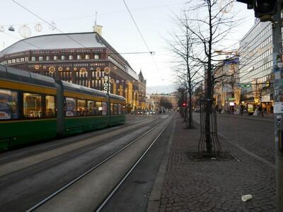 רחוב ראשי הלסינקי, פינלנד