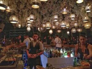 מסעדה סלוניקי, חיי לילה