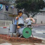 טיול דרום הארץ פסל מוסיקלי שדרות