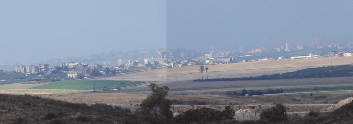דרום ישראל, נוף עזה