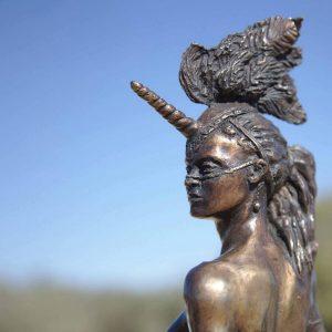 ראש פסל במידברן