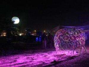 מידברן אומנות ירוקה גלגלי אופניים