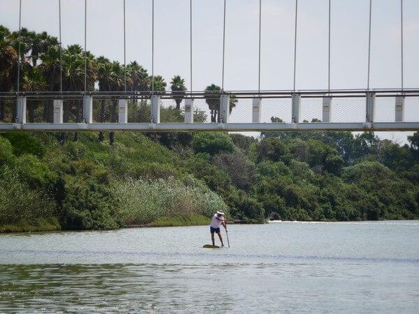 מקומות לטייל במרכז, גשר נחל חדרה. פארק נחל חדרה, מסלול טיול