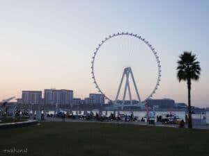 dubai גלגל ענק דובאי נמצא ליד הטיילת ג'.בי. אר JBR