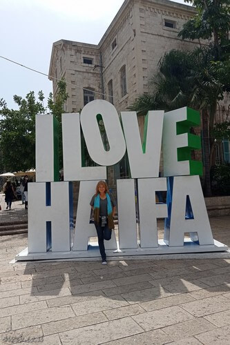 I love haifa, visit attractions and art in Haifa, Israel