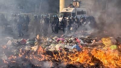 מהומות ברחבי הודו בין מוסלמים להינדים