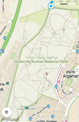 גן לאומי גבעת הכורכר הוא ביתם של אירוס הארגמן היפה. שמירה על הסביבה והטבע חשובים כי השמורה צמודה לעיר נס ציונה
