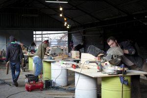 מידברן, סדנא לייצור אומנות בהתנדבות