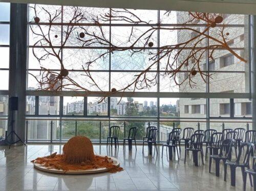 מקמות לטייל-מוזיאון במרכז, תערוכת ננו טכנולוגיה. מדע ואמנות בבר אילן