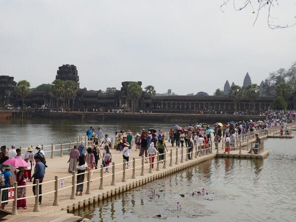 בראש השנה הסיני רוב התושבים במזרח נמצאים בחופשה ומטיילים